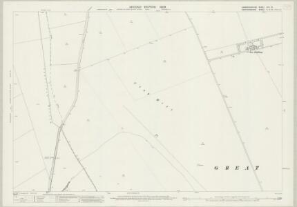 Cambridgeshire LVIII.16 (includes: Barley; Great Chishill; Little Chishill) - 25 Inch Map