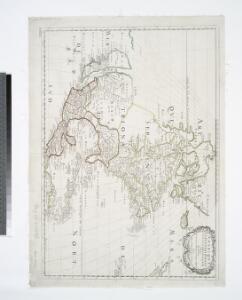 Amerique septentrionale / par N. Sanson d'Abbeville, geog. du Roy; A. Peyrounin, sculp.