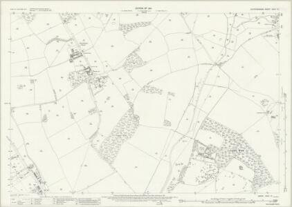 Hertfordshire XXXV.13 (includes: Colney Heath; London Colney; Ridge; St Albans) - 25 Inch Map
