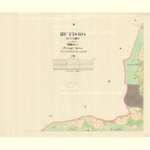 Hutisko - m0938-1-002 - Kaiserpflichtexemplar der Landkarten des stabilen Katasters
