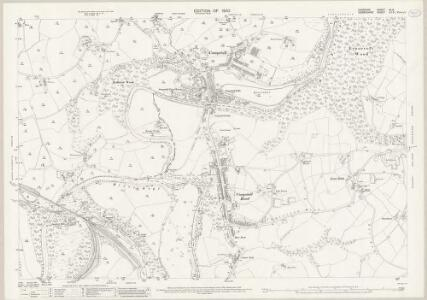 Cheshire XI.14 (includes: Bredbury and Romiley; Marple) - 25 Inch Map