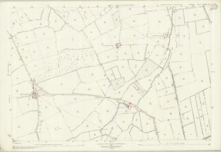 Wiltshire XXXIX.14 (includes: Edington; Steeple Ashton) - 25 Inch Map