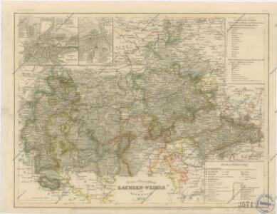Gross - Hherzogthum Sachsen - Weimar und Eisenach