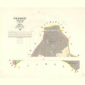 Wölmsdorf - c8581-2-001 - Kaiserpflichtexemplar der Landkarten des stabilen Katasters