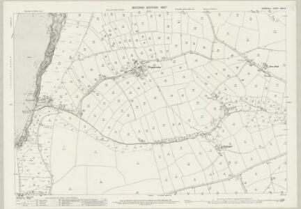 Cornwall XXXII.9 (includes: Colan; Mawgan in Pyder; Newquay) - 25 Inch Map