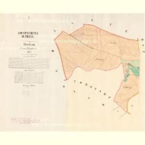 Kwatschitz II.Theil - m1450-1-001 - Kaiserpflichtexemplar der Landkarten des stabilen Katasters