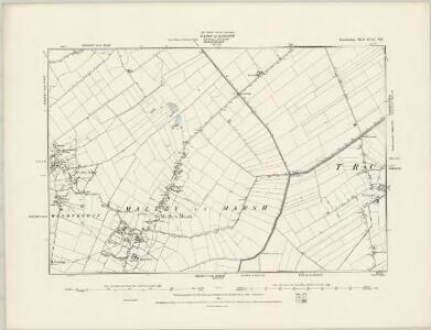 Lincolnshire LVII.SW - OS Six-Inch Map