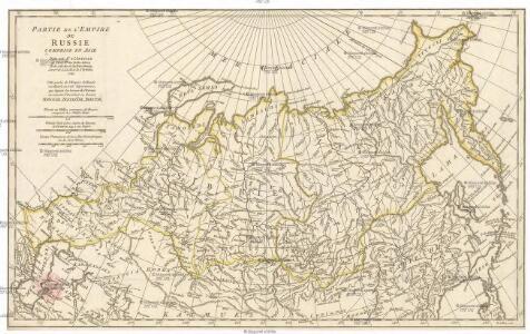 Partie de l'empire de Russie comprise en Asie