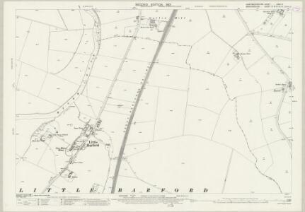 Huntingdonshire XXVII.3 (includes: Eaton Socon; Eynesbury Hardwicke; Little Barford) - 25 Inch Map