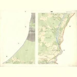Mitter Beczwa (Prostředny Beczwa) - m2424-1-004 - Kaiserpflichtexemplar der Landkarten des stabilen Katasters