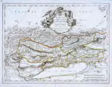 Carte de la principauté de Neufchatel et Vallengin