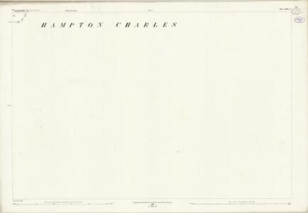 Worcestershire XXVI.6 (includes: Bockleton; Hampton Charles; Thornbury) - 25 Inch Map