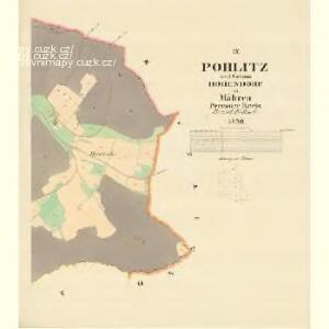 Pohlitz - m2351-1-008 - Kaiserpflichtexemplar der Landkarten des stabilen Katasters