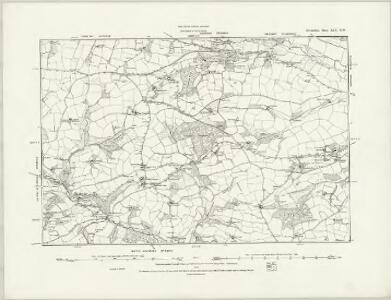 Devonshire XLV.SE - OS Six-Inch Map