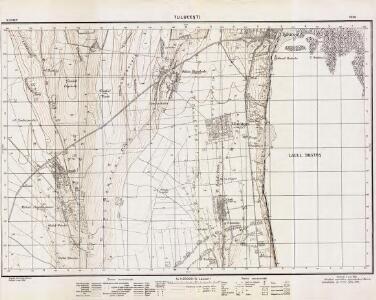 Lambert-Cholesky sheet 5256 (Tuluceşti)