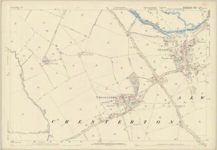Huntingdonshire V.1 (includes: Alwalton; Castor; Chesterton; Elton; Water Newton) - 25 Inch Map