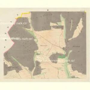 Blauda (Bludoff) - m0118-1-002 - Kaiserpflichtexemplar der Landkarten des stabilen Katasters