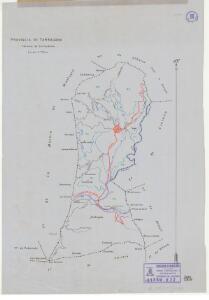 Mapa planimètric de Cornudella de Montsant