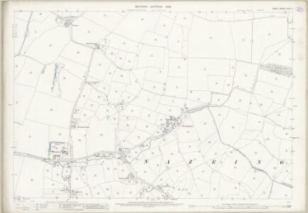 Essex (1st Ed/Rev 1862-96) XLIX.3 (includes: Nazeing; Roydon) - 25 Inch Map
