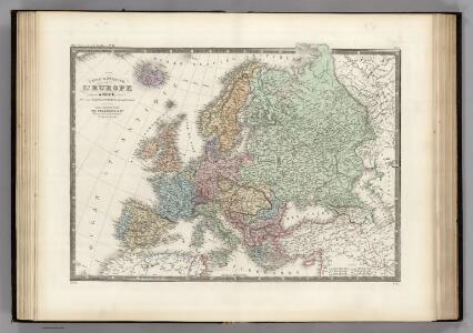 L'Europe (en 1850).