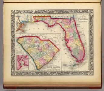County Map Of Florida.