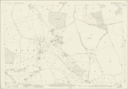 Hertfordshire VIII.7 (includes: Kelshall; Sandon; Therfield) - 25 Inch Map