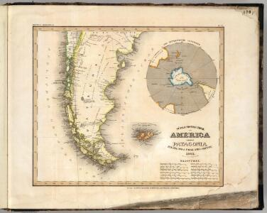 Patagonia, Feuerland, Falklands, Antarctische Continent.
