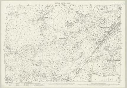 Cornwall LXIII.8 (includes: Camborne Redruth; Gwennap) - 25 Inch Map