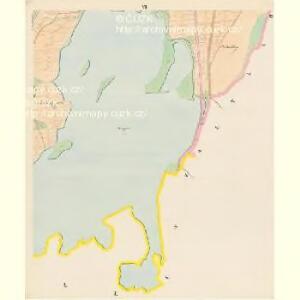 Przeseka - c6205-1-006 - Kaiserpflichtexemplar der Landkarten des stabilen Katasters