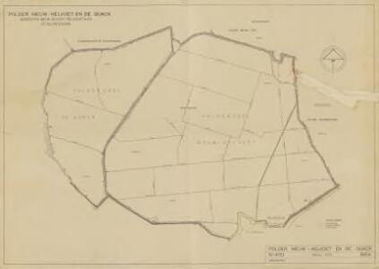 Polder Nieuw-Helvoet en de Quack, gemeente Nieuw-Helvoet, Hellevoetsluis en Nieuwenhoorn.