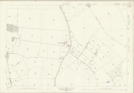 Northamptonshire VI.12 (includes: Kings Cliffe; Thornhaugh) - 25 Inch Map
