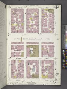 Manhattan, V. 1, Plate No. 82 [Map bounded by Rivington St., Cannon St., Grand St., Willett St.]