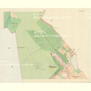 Chilitz (Chilice) - m1000-1-004 - Kaiserpflichtexemplar der Landkarten des stabilen Katasters