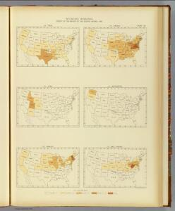 30. Interstate migration 1890 TX-WV.