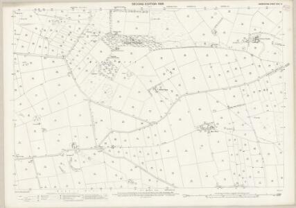 Derbyshire XXIII.14 (includes: Ashford; Bakewell; Over Haddon) - 25 Inch Map