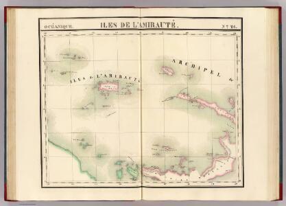 Iles de l'Amiraute. Oceanique no. 24.