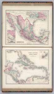 Mexico.  West Indies and Central America.