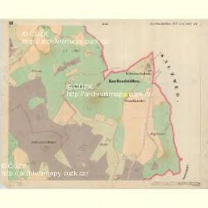 Korkushütten - c3335-1-003 - Kaiserpflichtexemplar der Landkarten des stabilen Katasters