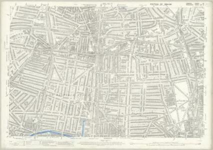 London (Edition of 1894-96) XL (includes: Hackney; Islington; Shoreditch; Stoke Newington) - 25 Inch Map