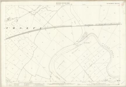 Nottinghamshire XXXV.2 (includes: Averham; Farndon; Newark Upon Trent; Rolleston; Staythorpe) - 25 Inch Map
