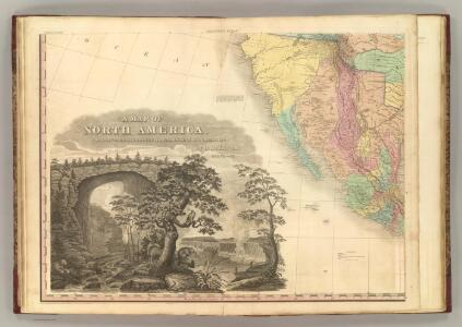North America, S.W. Sheet.