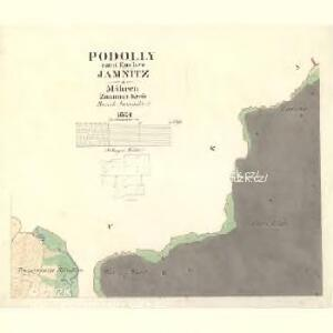 Podolly - m2326-2-002 - Kaiserpflichtexemplar der Landkarten des stabilen Katasters