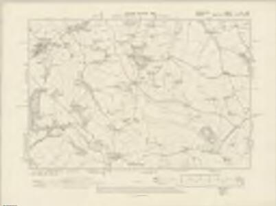 Devonshire LXa.SW - OS Six-Inch Map