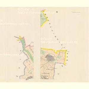 Zahortschitz - c9044-1-002 - Kaiserpflichtexemplar der Landkarten des stabilen Katasters