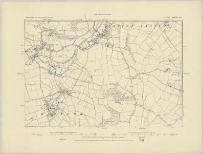 Warwickshire XXXVII.SW - OS Six-Inch Map