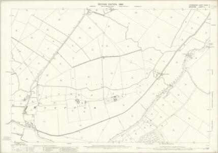 Oxfordshire XXXVIII.11 (includes: Appleton with Eaton; Kingston Bagpuize; Northmoor) - 25 Inch Map