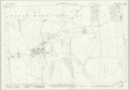 Dorset LVI.15 (includes: Corfe Castle; Langton Matravers; Worth Matravers) - 25 Inch Map