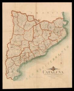 Cataluña. Descripción geográfica de la cuatro provincias catalanas