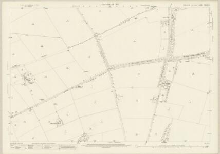 Yorkshire CXXVI.15 (includes: Foxholes; Kilham; Langtoft; Thwing; Weaverthorpe) - 25 Inch Map