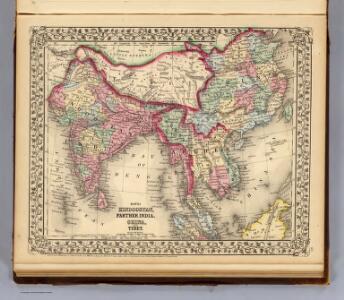 Hindoostan, Farther India, China, Tibet.